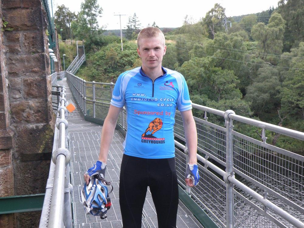 Invershin viaduct footbridge