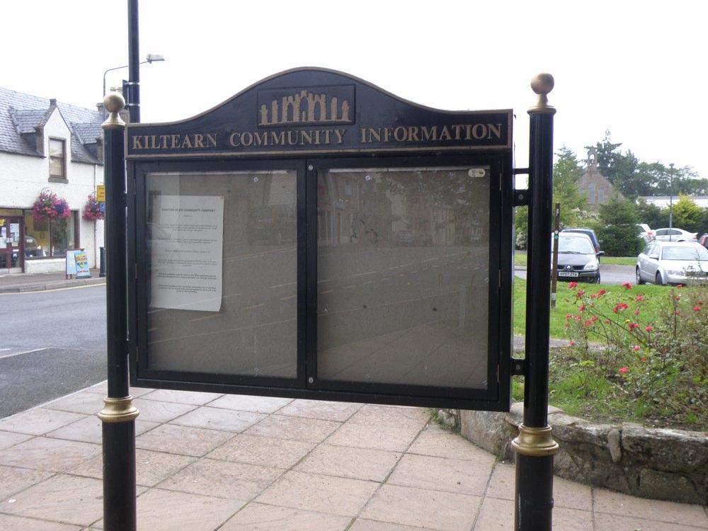 Community information boardday 3, Kiltearnday 3, Kiltearn