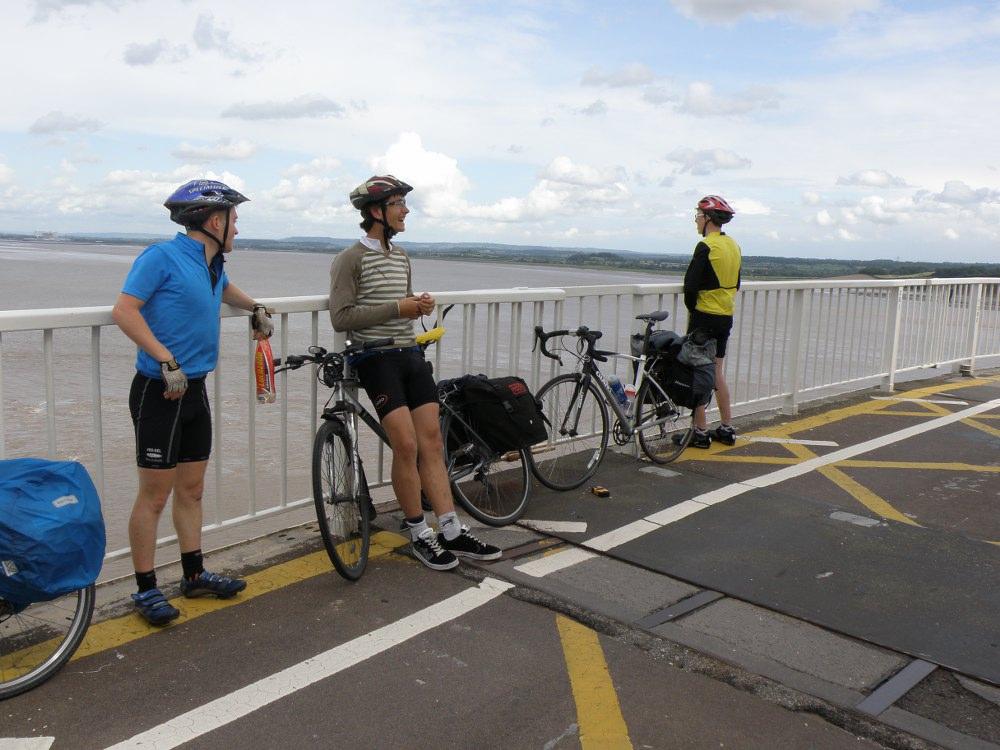 Lads on Old Seven Bridge