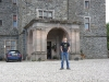 Gordon outside Carbisdale Castle