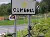 Cumbria sign on the A65